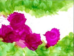Windswept Roses